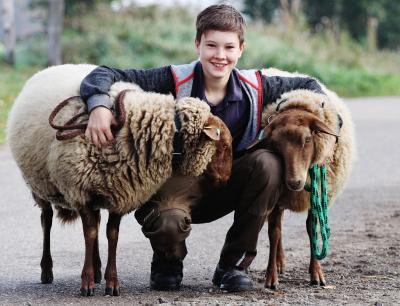 Foto zu Meldung: Jannis Nagel will als Züchter seltene Rassen erhalten