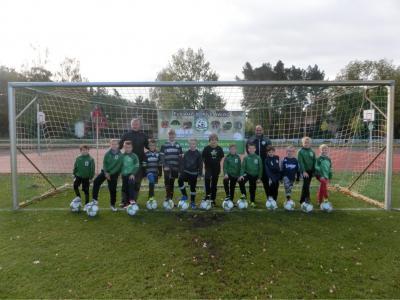 Vorschaubild zur Meldung: Herbstfußballcamp im Waldstadion 2018