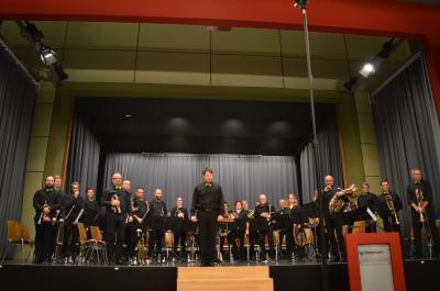 Vorschaubild zur Meldung: Mächtige Klänge in der Liedolsheimer Festhalle