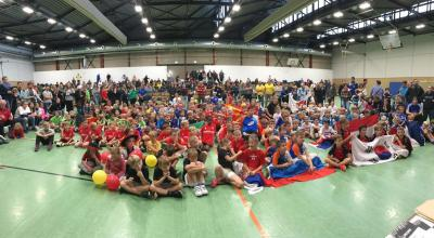 Foto zur Meldung: TV Langenselbold Abteilung Handball: MINI WM 2018 dank Eurer Hilfe ein Super Erfolg