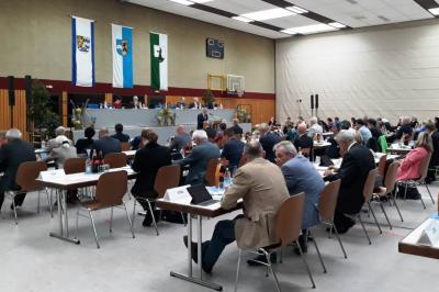 Kreistagssitzung in Meckesheim am 23.10.2018