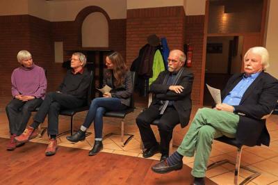 vlnr. B. Deyda, M. Görg, V. Michalek, H. Brosziewski, J. Janning