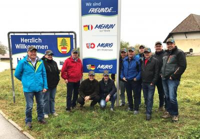 Besuch Delegation aus Murg am Walensee CH