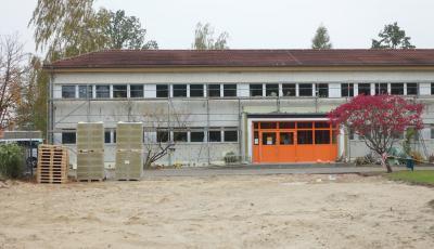 Foto zur Meldung: Energetische Sanierung bei Kita und Turnhalle