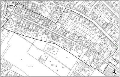 """Vorschaubild zur Meldung: Öffentliche Bekanntmachung   Bebauungsplan """"Friedrichstraße"""" und örtliche Bauvorschriften zu diesem Bebauungsplan der Innenentwicklung im beschleunigten Verfahren nach § 13a Baugesetzbuch (BauGB)  Ern"""