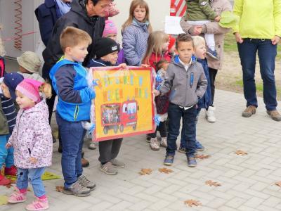 """Kinder der Kita """"Kleine Waschbären""""´, Foto: Dr. Uwe Schieferdecker"""
