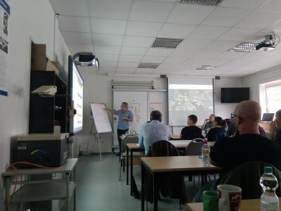 Schulung der Kreisverwaltung OSL zum Thema Katastrophenschutz. Foto: Landkreis