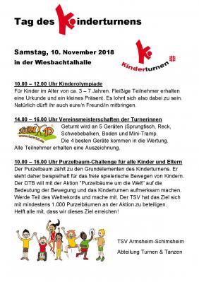 Foto zur Meldung: Tag des Kinderturnens beim TSV Armsheim-Schimsheim