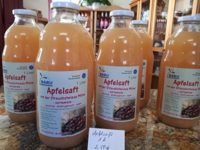 Foto zur Meldung: naturtrüber Apfelsaft