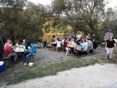 Foto zur Meldung: Pilotprojekt: Geo-Cache Exkursion im Hochwildschutzpark