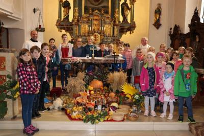 Foto zur Meldung: Erntedank 2018 in der Pfarrei