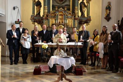 Foto zur Meldung: Vier-fach Taufe 21-10-18
