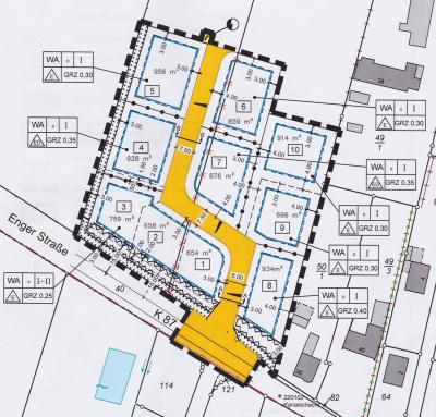 Vorschaubild zur Meldung: Noch einige freie Bauplätze im Baugebiet