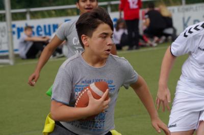 Vorschaubild zur Meldung: Sporttag der siebten Klassen bewegt vielfältig
