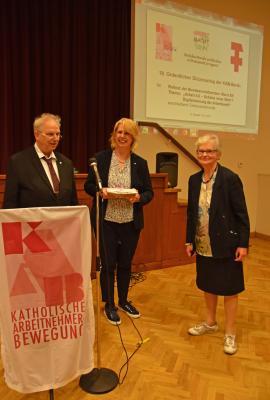 Michael Hübner, Maria Etl, Monika Binek