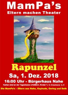 """Foto zur Meldung: 01.12.2018 / 16.00 Uhr: """"Rapunzel"""" - Weihnachtsmärchen im Bürgerhaus in Nahe"""
