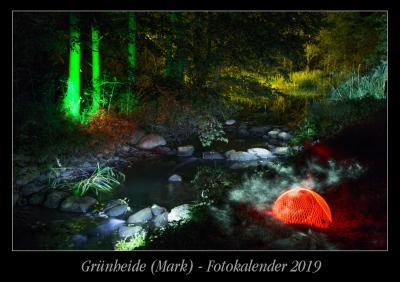 Foto zur Meldung: Grünheider Fotokalender 2019 - Restexemplare reduziert