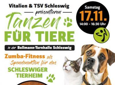 Vorschaubild zur Meldung: TANZEN FÜR TIERE AM  17. NOVEMBER 2018
