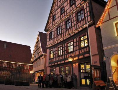 Vorschaubild zur Meldung: Veringenstadt erstrahlt im Advent mit einer Weihnachtsbeleuchtung