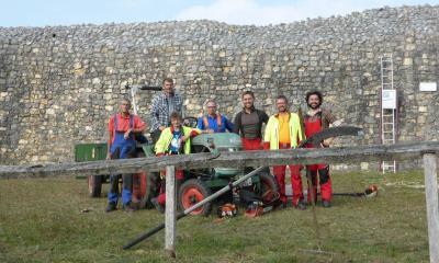 Vorschaubild zur Meldung: Burgmauer soll ab 2019 beleuchtet werden