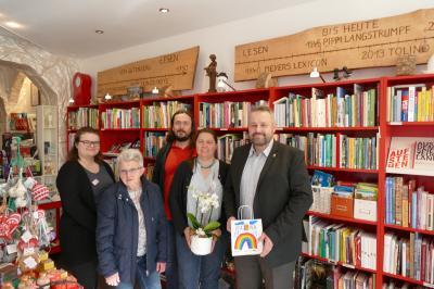 Vorschaubild zur Meldung: Deutscher Buchhandlungspreis für die Buchhandlung am Markt in Hildburghausen