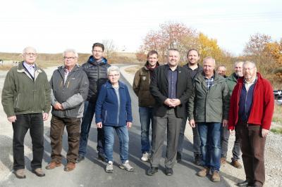 """Vorschaubild zur Meldung: Baumaßnahme: Ausbau ländlicher Weg """"Am Kleinodsfeld"""""""