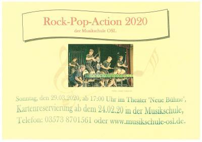Vorschaubild zur Meldung: Rock - Pop - Action 2020