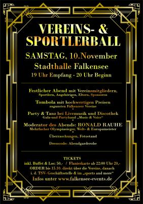 2. Vereins- und Sportlerball in Falkensee
