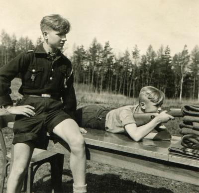 Walter Meier (links) in der NAPOLA