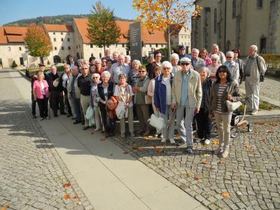 Seniorinnen und Senioren am Halbtagesauflug in Morschen