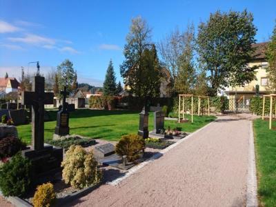 Vorschaubild zur Meldung: Friedhof Murg – Beendigung der Sanierungsetappen 2018