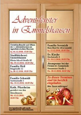 Vorschaubild zur Meldung: Adventsfenster in Emmelshausen