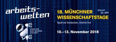 Vorschaubild zur Meldung: Wissenschaftstage München 2018