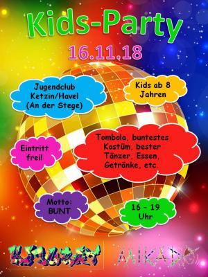 Vorschaubild zur Meldung: Kids-Party im Jugendclub