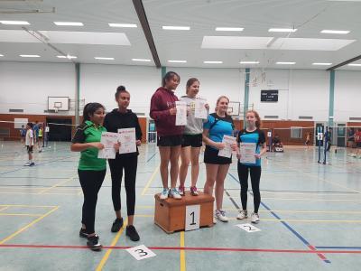 Foto zur Meldung: Bezirksrangliste Abteilung Badminton
