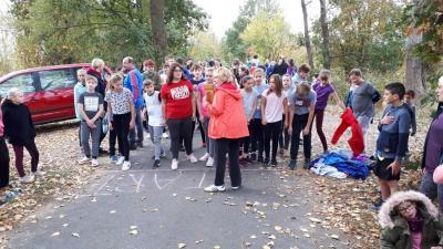 """Foto zur Meldung: Herbstlauf an der Grundschule """"Kinder von Golzow"""" weckte Freude an der Bewegung"""