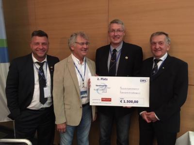 Vorschaubild zur Meldung: Rüdersdorfer Ruderverein gewinnt 2. Platz des DRV-Vereinspreises