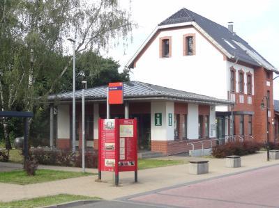 Foto zur Meldung: Mobilitätsdrehscheibe Bahnhof