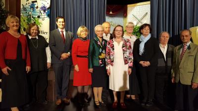Foto zur Meldung: Verleihung der Bürgerpreise und der Kulturehrenbriefe der Gemeinde Nauheim