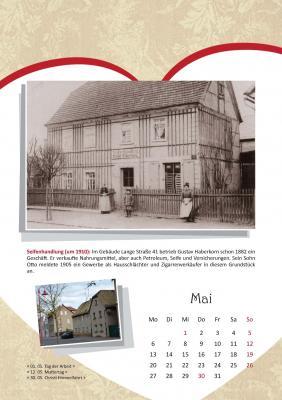 Ausschnitt aus dem Naunhofer Kalender 2019