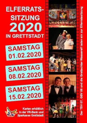 Vorschaubild zur Meldung: 1. Elferratssitzung der Wasserelf Grettstadt am 1.2.2020