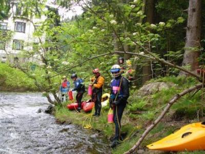 Foto zur Meldung: Übungsleiter C- Fortbildung:  Sicherheit im Wildwasser