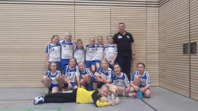Foto zur Meldung: Handball- Nachwuchs: Erfolgreiches Wochenende für E- Jugend des HSV 04
