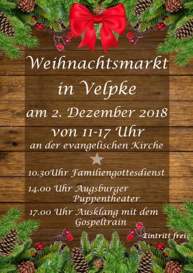 Foto zu Meldung: Weihnachtsmarkt in Velpke