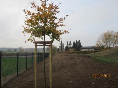 Foto zu Meldung: Baumaßnahmen auf dem Spielplatz in Velpke, Kirschenweg