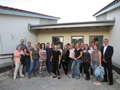 Foto zur Meldung: Kennenlerntag der Mitarbeiter der neuen Velpker Kita