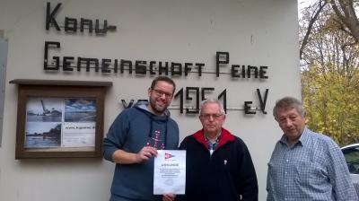 Foto zur Meldung: Gute Saison für LKV-Bezirk Braunschweig: 112.754 Paddelkilometer und 8 Goldabzeichen