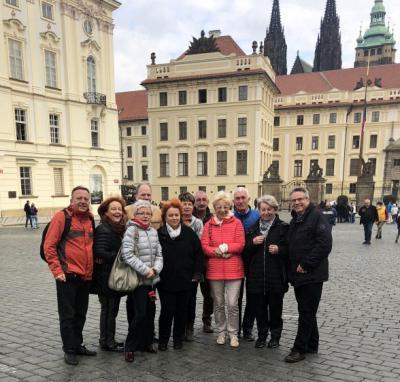 """Mitglieder des Fördervereins in der """"Goldene Stadt"""" Prag 2018"""