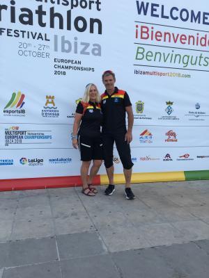 Foto zur Meldung: Holger Beckert in der Top 30 bei der Triathlon - EM auf Ibiza