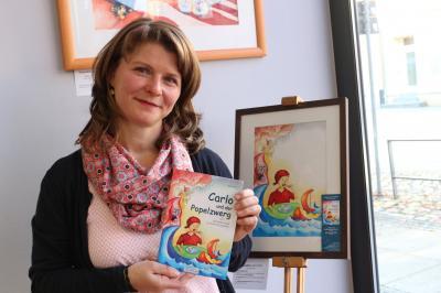 """Foto zur Meldung: Neue Ausstellung im Calauer Info-Punkt: """"Wie entsteht ein Kinderbuch?"""""""